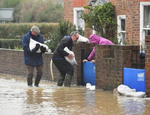 UK weather: warning of further rain for areas already hit by flooding